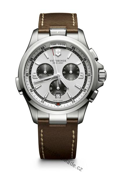 Victorinox 241729 Night Vision Leather Chrono