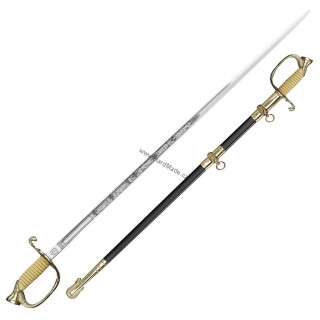 Cold Steel Naval Officer's Sword - U.S. meč